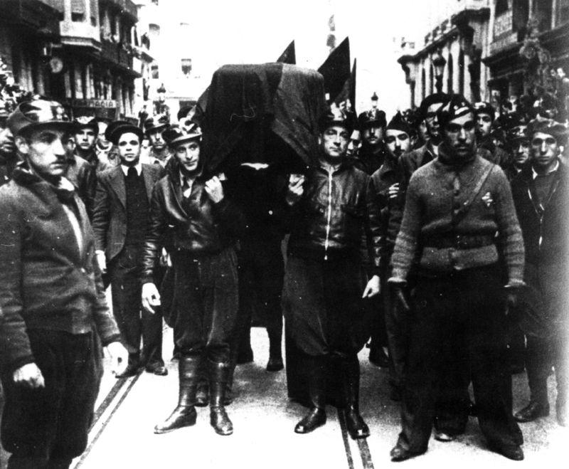 Entierro de Durruti