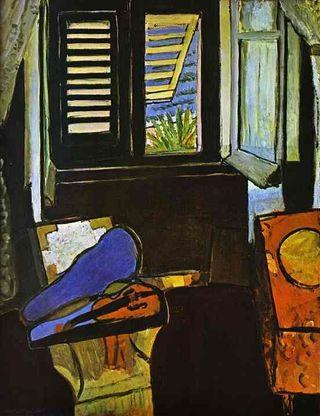 Matisse interior con violin 2