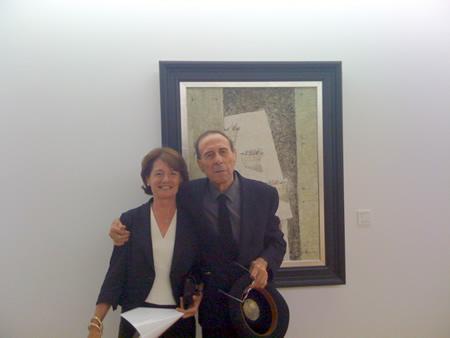 Cristino De Vera y su mujer, Aurora Ciriza