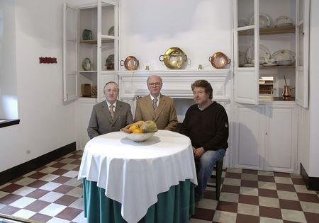 EVERSTILL.Gilbert & George con Morente 1