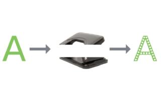 La tipografía ecofont ahorra un 20% de tinta.