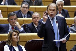 El portavoz del PP en el Senado, Pío García Escudero