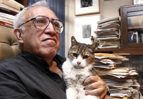El escritor mexicano Carlos Monsiváis, recientemente fallecido