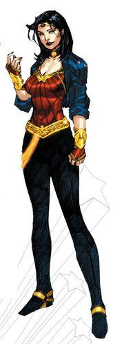 Nuevo uniforme de Wonder Woman.
