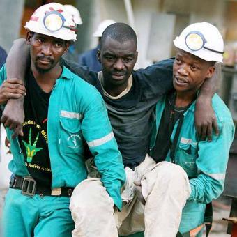Mineros_rescatados_Surafrica