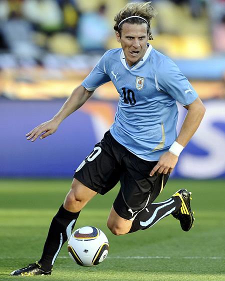 El delantero uruguayo Diego Forlán