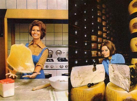 Sophia loren cocina