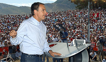 Rodríguez Zapatero en Rodiezmo
