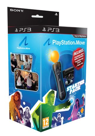 PS Move Starter Pack box
