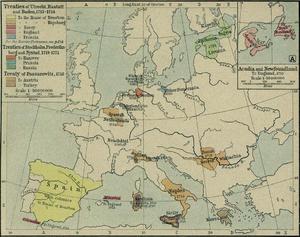 Tratado de Utrecht (1712), de aquellos mapas vienen estas traineras