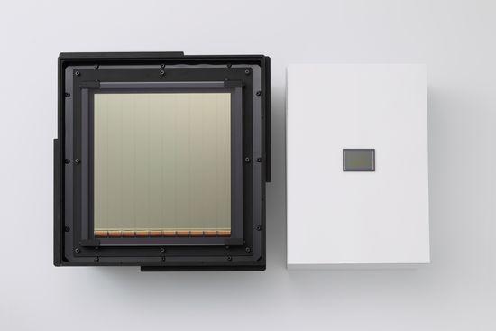 Wafer CMOS sensor Canon_1