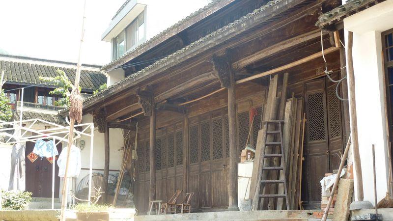 Casa y porche