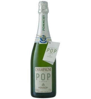 Champán 'Pop Earth', con una botella de 850 gramos.
