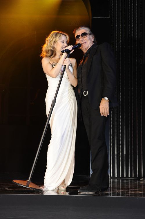 Kylie Minogue in Roberto Cavalli e Roberto Cavalli