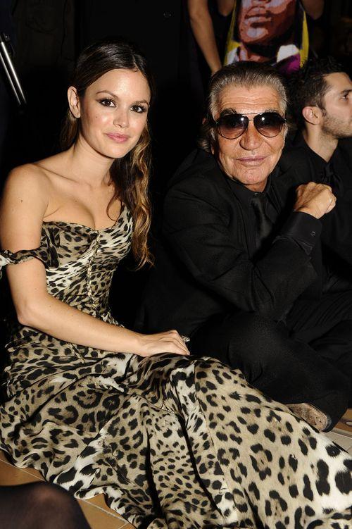 Rachel Bilson in Roberto Cavalli e Roberto Cavalli