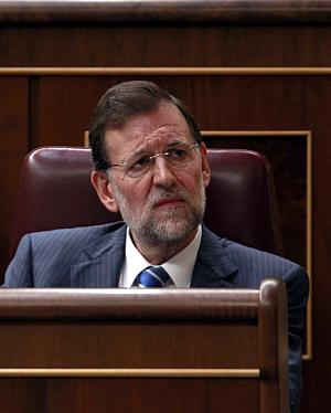 Mariano Rajoy, en el Pleno del Congreso sobre los Presupuestos (Reuters)