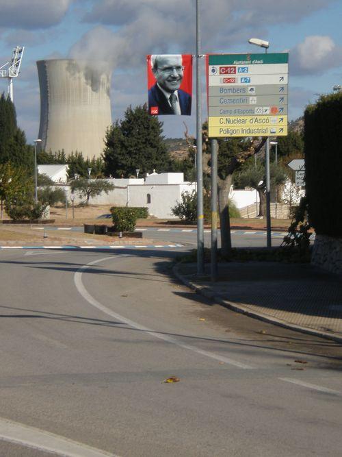 Una calle de Ascó