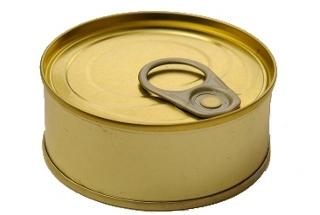 Lata de atún fabricada en España que contiene Yellowfin.