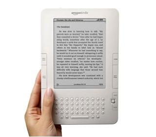 El Kindle de Amazon.