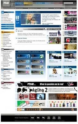 Antigua webd e RTVE.ES
