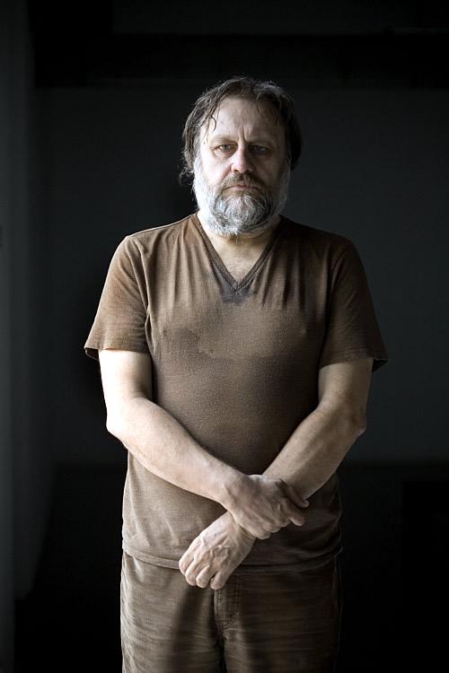 El filósofo esloveno Slavoj Zizek (Foto: Consuelo Bautista)