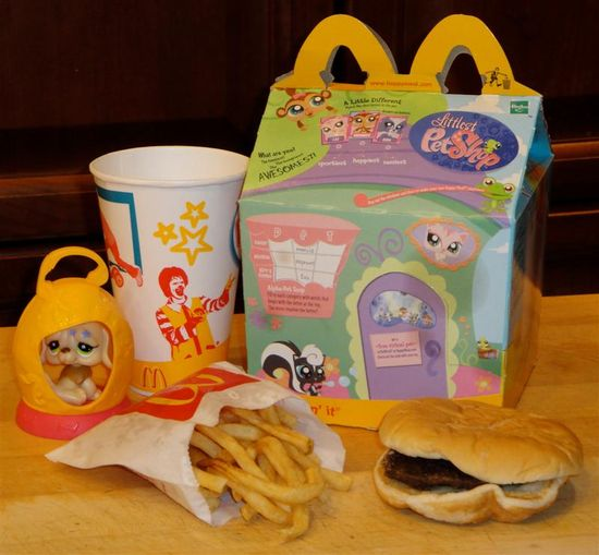 Happy meal baby bites