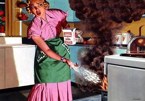 Desastres cocina