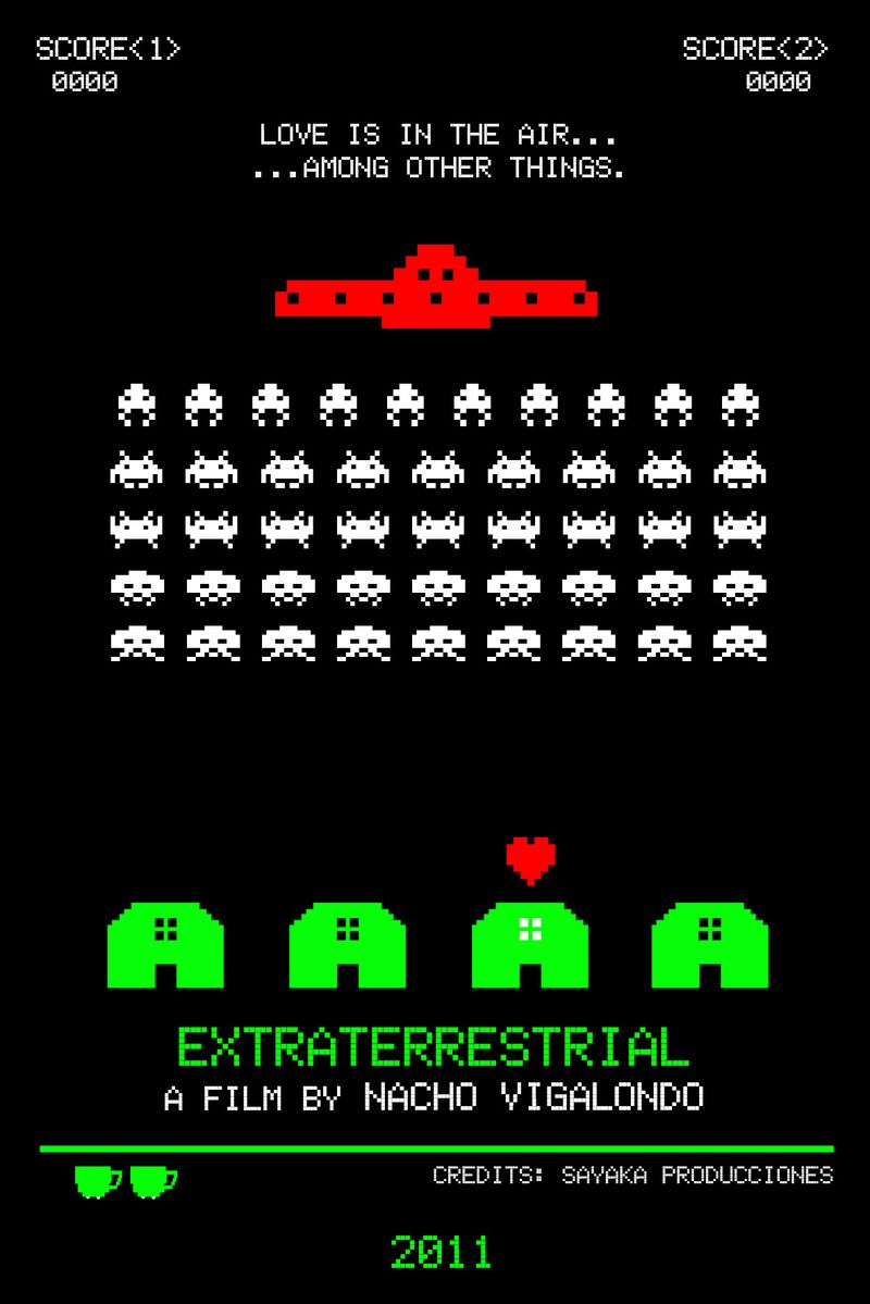 Postal SPACE INVADERS FINAL