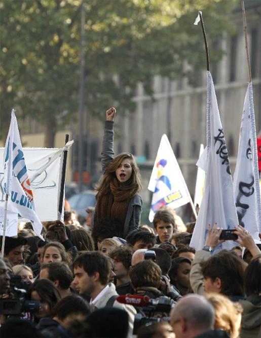 Francesas, guapas y revolucionarias....