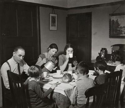 Familia blanco y negro