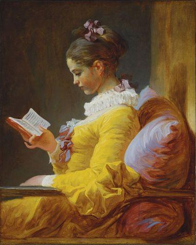 Jean-Honore Fragonard - La Lectora