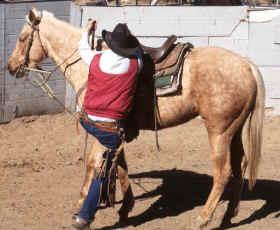 Montar al caballo