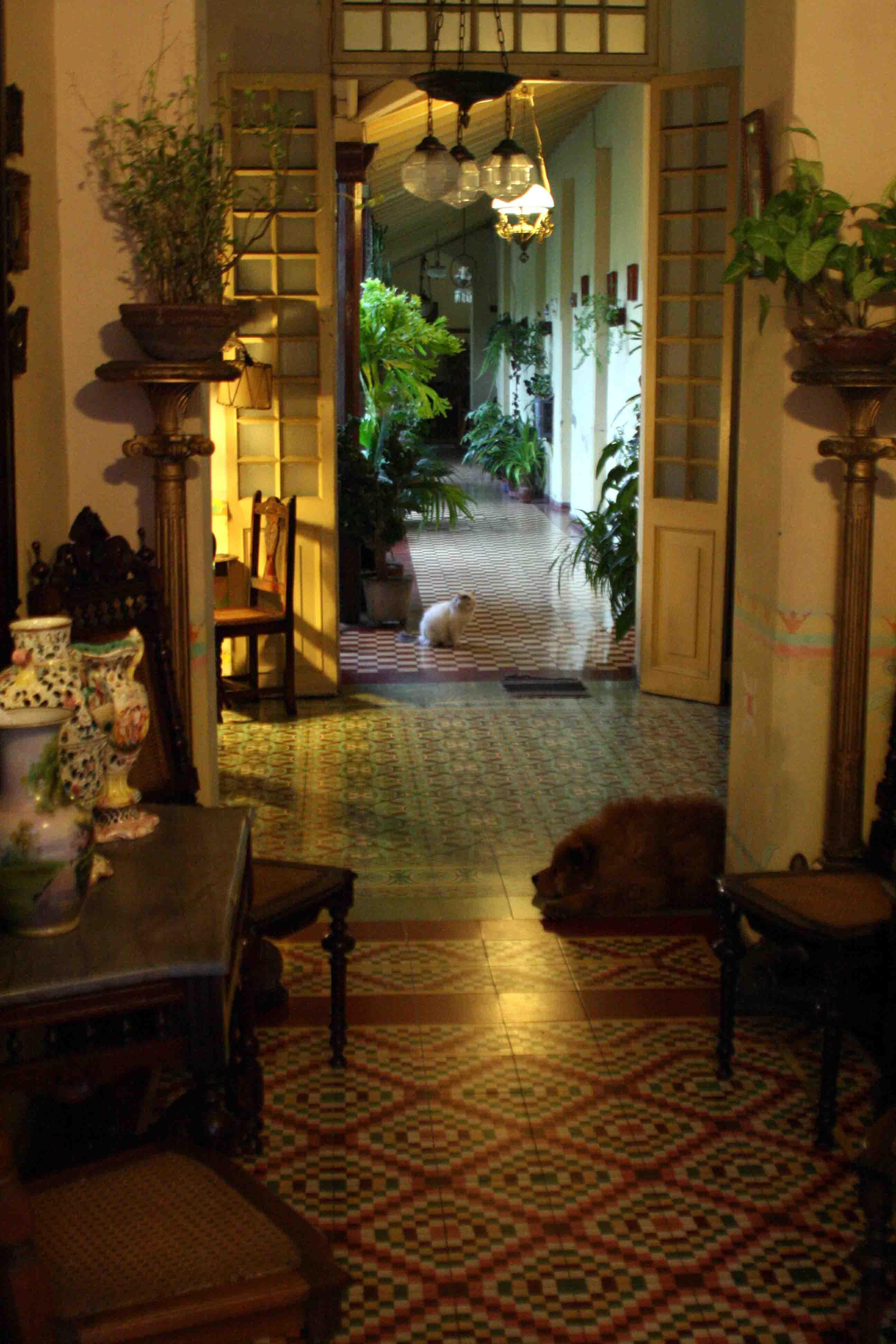 Mi precious rincon punto cruz casas coloniales cubanas for Casas coloniales interiores