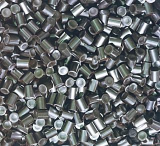 Pastillas de uranio fabricadas por ENUSA