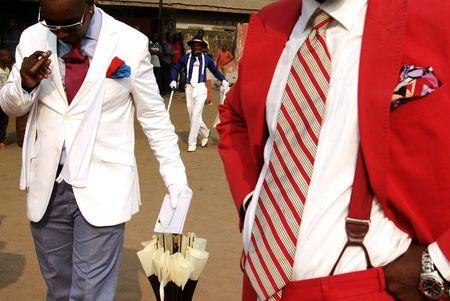 La Sape congolesa.Baudouin Mouanda 2009