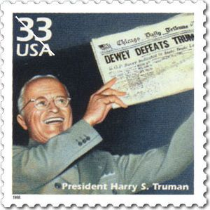 Harry truman stamp