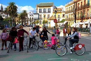 Ciclovida de Sevilla. Foto. Juan Manuel Ureña
