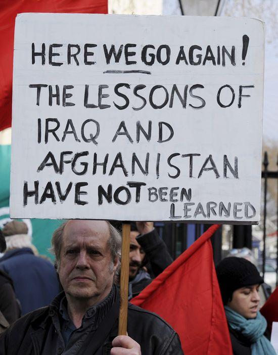 Gadafiprotest