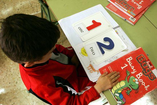 Colegio público bilingüe en Madrid (Foto: Uly Martín)