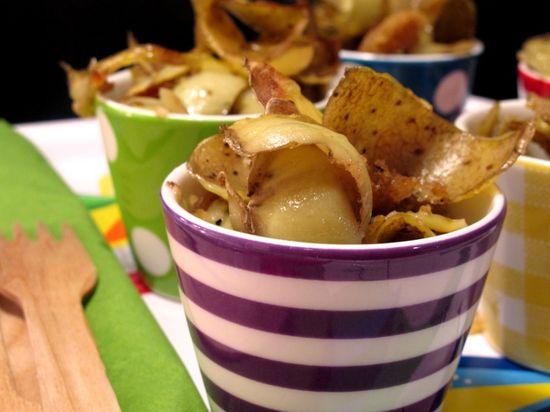 Chips-di-bucce-di-patate