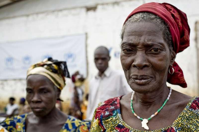 Refugiadas de Costa de Marfil en Liberia. UNHCR/G.Gordon