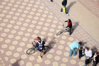 Sevilla en bici. Juan Manuel Ureña