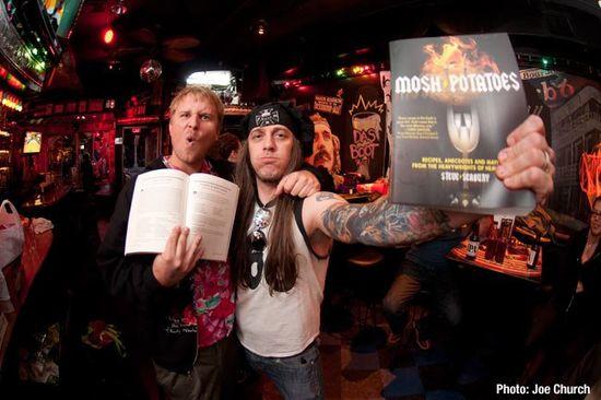 Libro y autor de mosh potatoes