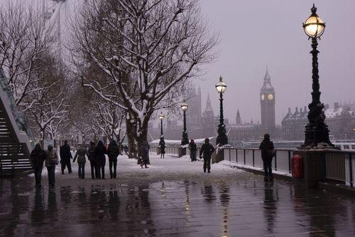 Big ben winter