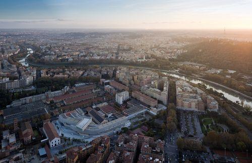 MUSEO MAXXI DE ZAHA HADID EN ROMA. FOTO:IWAN BAAN