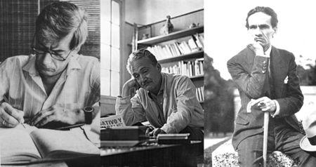 Tres escritores peruanos