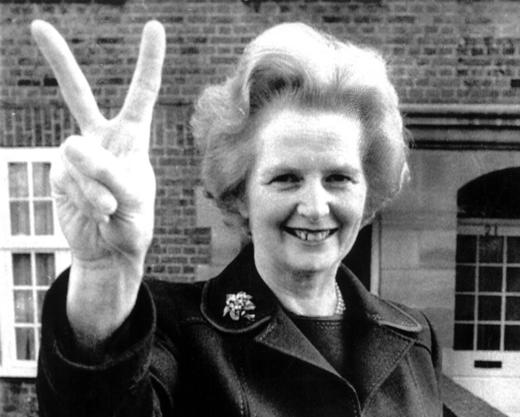 Margaret Thatcher. Foto:EFE