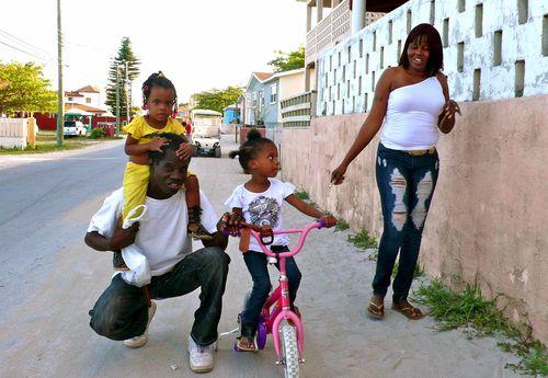 Familia en Bimini