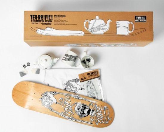 Te skater