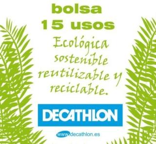Bolsa 15 usos de Decathlon